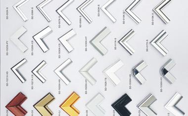 铝型材边框样品
