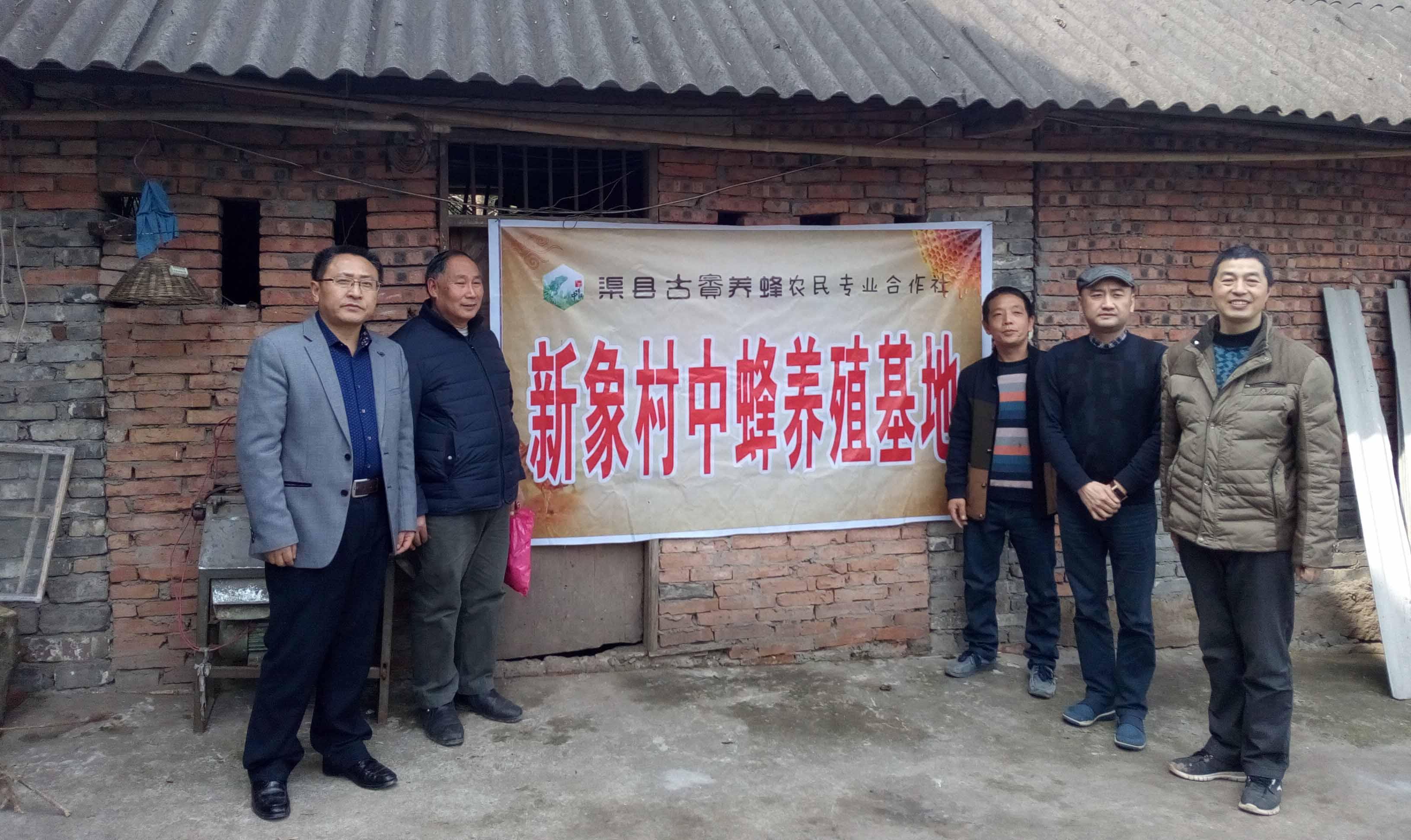 流溪乡新象村中蜂养殖基地
