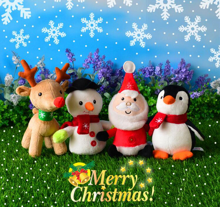 Wholesale Christmas plush toys in bulk