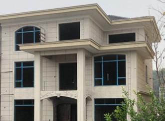万源三层欧式自建房案例实拍展示