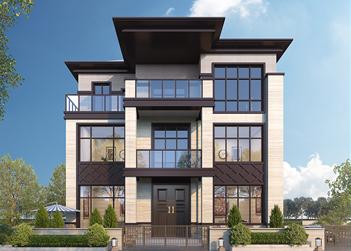 新款农村别墅设计图纸三层新中式楼房乡村自建房屋
