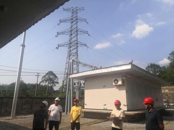 加强隐患排查,确保安全供电——华蓥市地方电力有限责任公司开展节前安全大检查